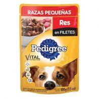 Alimento húmedo para perro raza pequeña sabor res 100 gramos