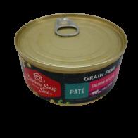 Alimento en Lata para Gato Chicken Soup For The Soul Grain Free Sabor Paté Salmon 5.5 Oz.