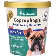 Vitaminas para Perro Control Coprofagia Natur Vet 70 Tabletas