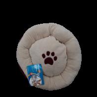 Cama para Mascota Huella Beige