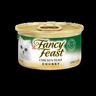 Alimento en Lata para GatoFancy Feast Chuncky Pollo 3 Oz