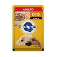 Alimento Húmedo para Perro Adulto Pedigree Pouch sabor Pollo 100 g.