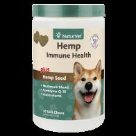 Suplemento del sistema inmune Naturvet para Perros