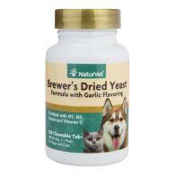 Vitaminas Naturvet para Perros y Gatos Formula Levadura y Ajo 100 unidades