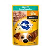 Alimento Húmedo para Perro Raza Pequeña Pedigree Pouch Sabor Pollo 100 g.