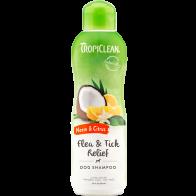 Shampoo contra pulga y garrapatas TropiClean